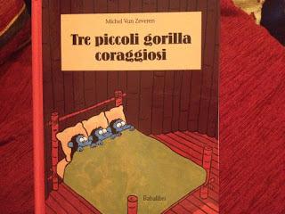 Biblioburro: Tre piccoli gorilla coraggiosi